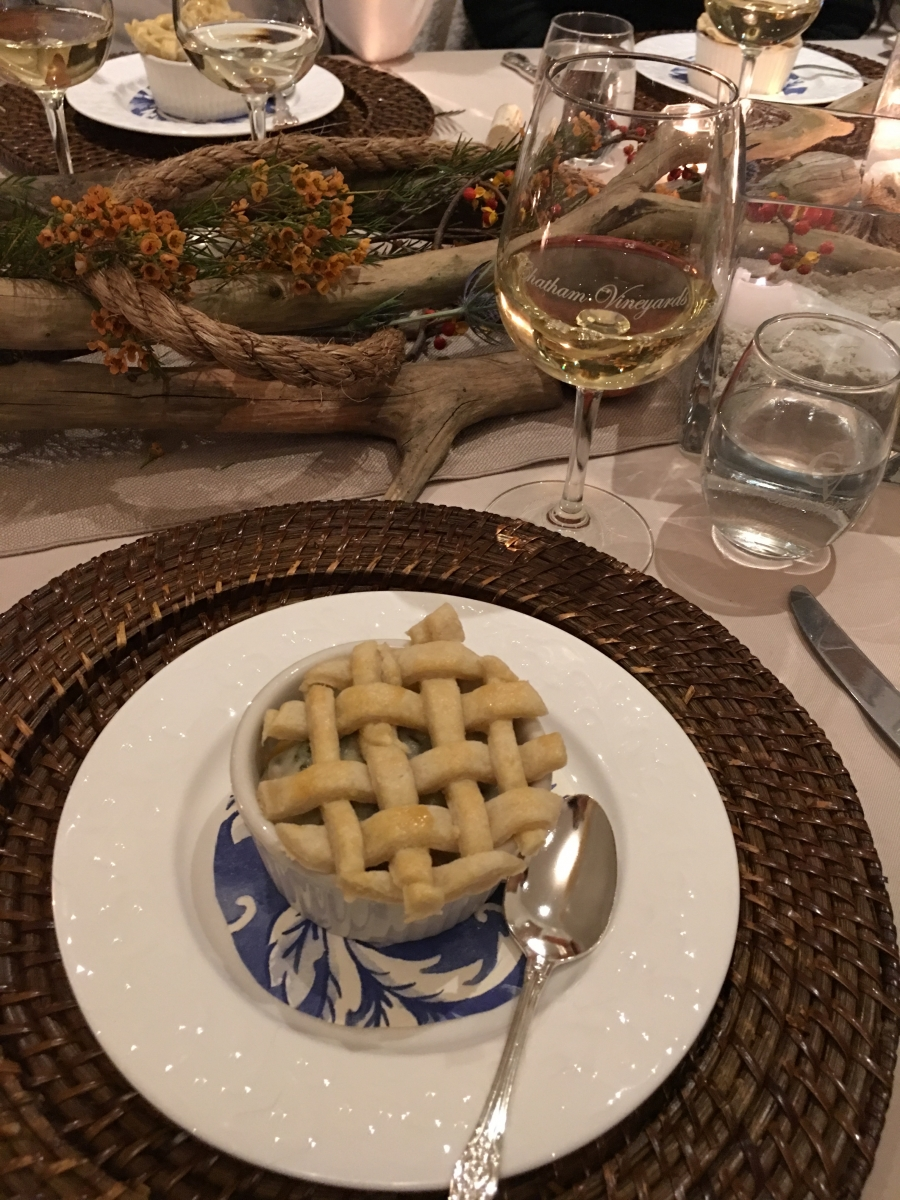 Virginia Wine Coastal Harvest Party, Oyster Pie