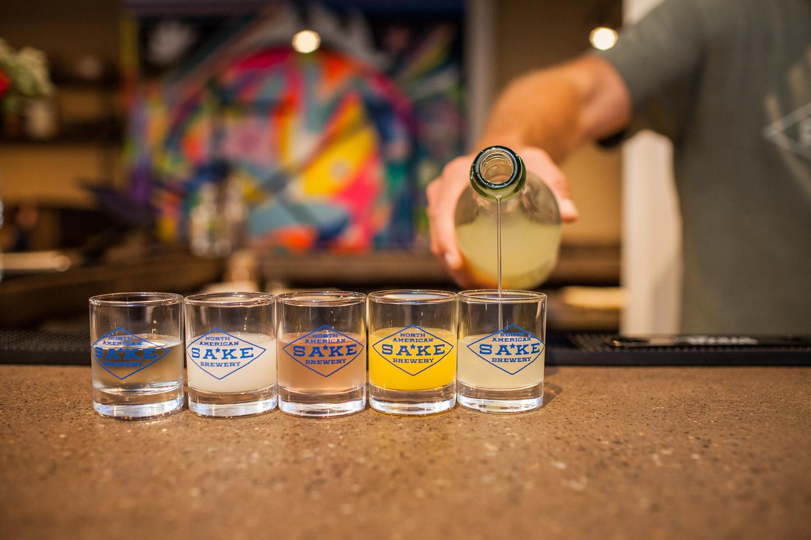 North American Sake Brewery, craft brewery Charlottesville
