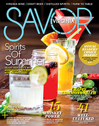 Savor Virginia Magazine Cover