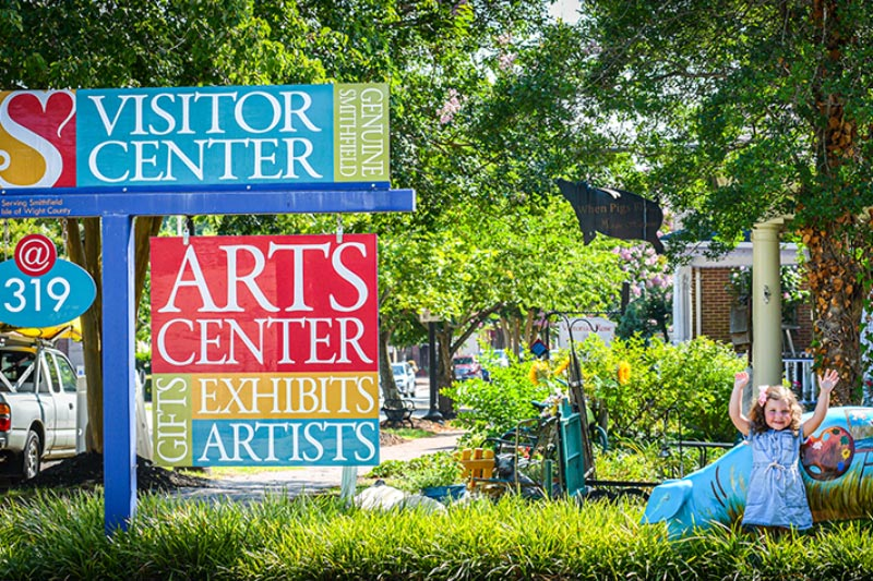 Smithfield Visits Center ©Elly Condit
