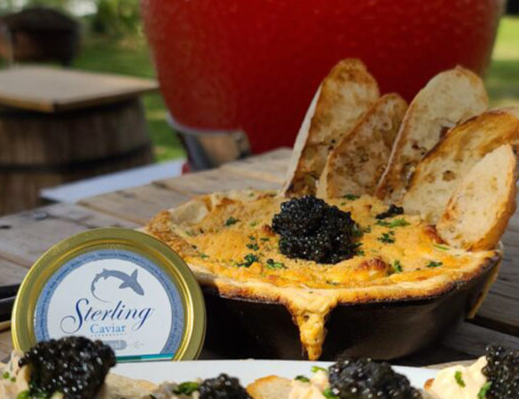 Smoked Chesapeake Blue Crab Dip Recipe by Chef Eric Gephart