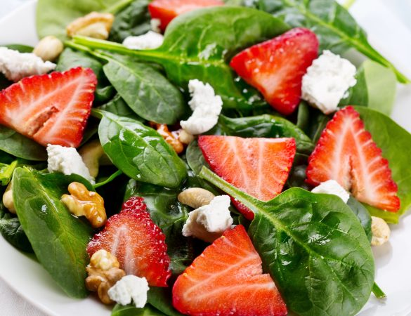 Strawberry and Goat Cheese Salad Recipe