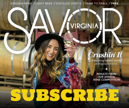 savor virginia cover