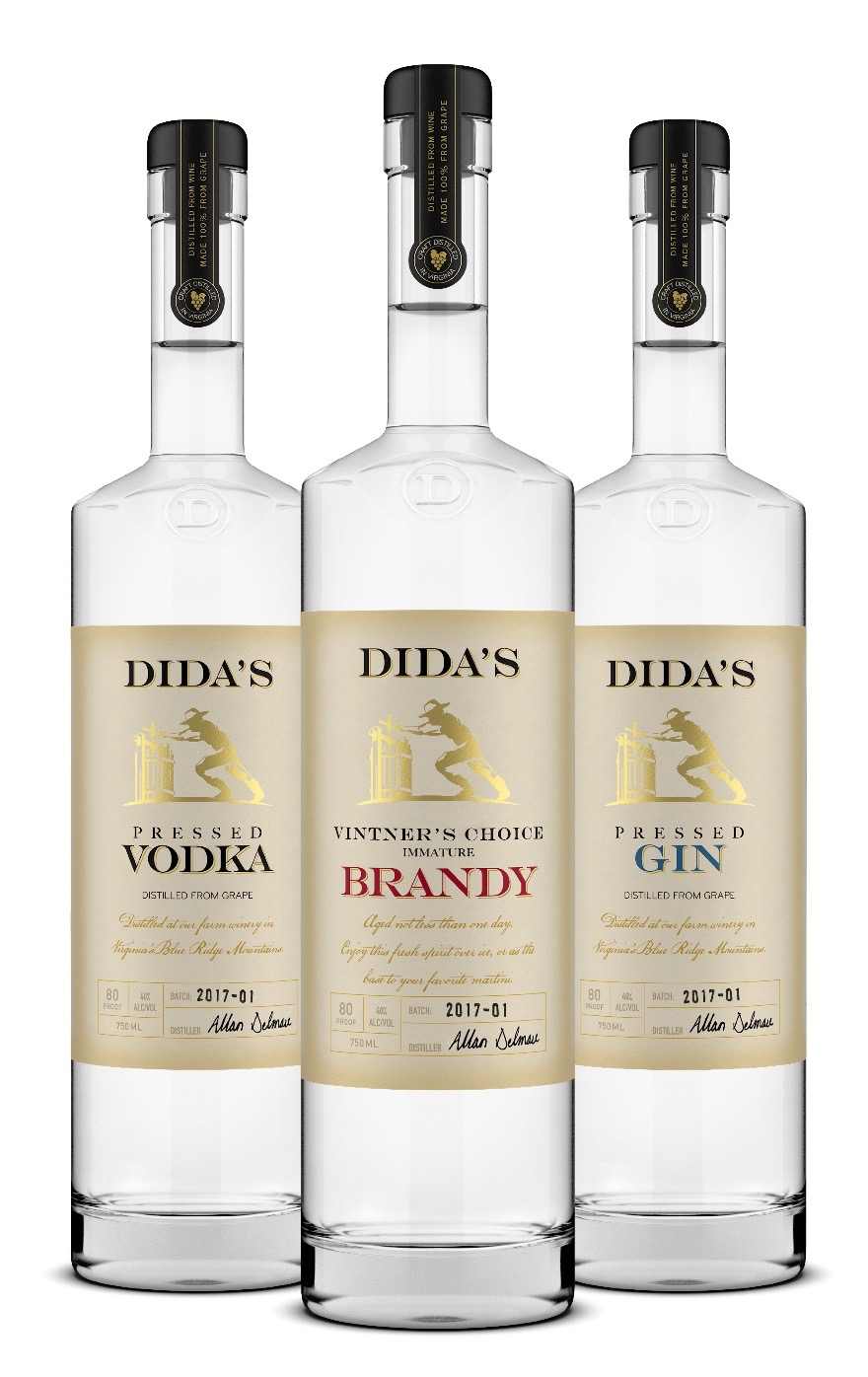 Dida's Distillery, Huntly, Brandy, Vodka, Gin