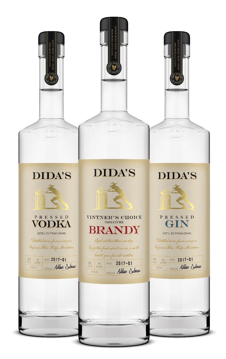 Dida's Distillery, Huntly, Brandy, Vodka, Gin