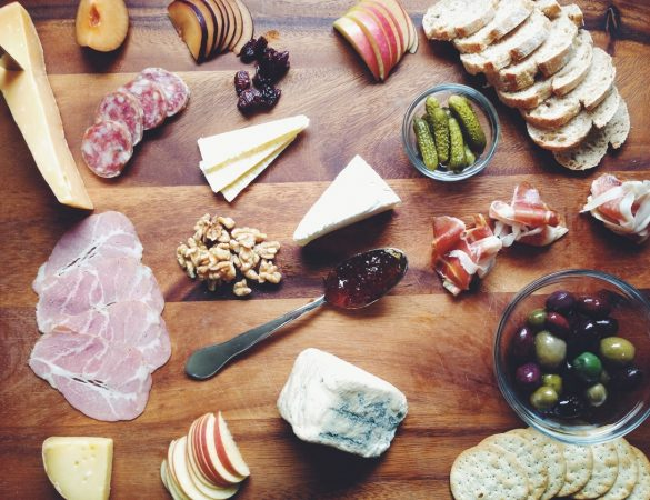 The Cheese and Charcuterie Board