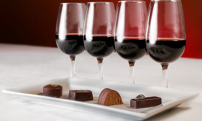 wine and chocolate, chateau morissette, floyd